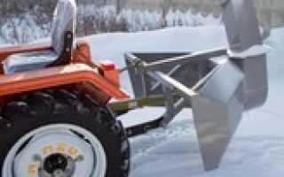 Купить снегоротор для трактора т-25