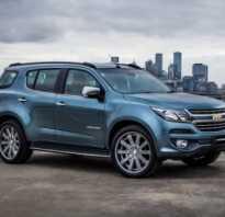 Chevrolet trailblazer 2017