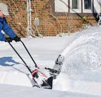 Мотоблок и снегоуборщик в одном