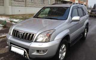 Toyota land cruiser prado 2006 года дизель отзывы