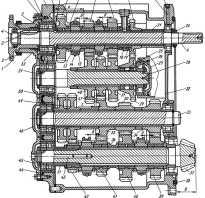 Характеристика кробки передач на тракторе т-130