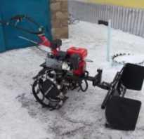 Снеговой отвал для мотоблока своими руками