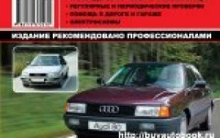 Руководство по ремонту ауди 80 б4 1994 95