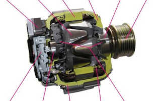 Ремонт генератора бмв е60