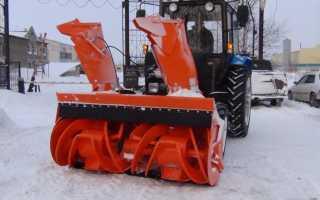 Снежный отвал на мтз 82