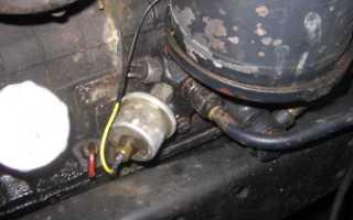 Ваз 2109 инжектор не гаснет датчик давления масла