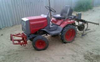 Культиватор фрезерный для трактора кмз-012