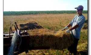 Как сделать пресподборщик для сена своими руками