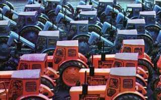 Минитрактор липецкого тракторного завода