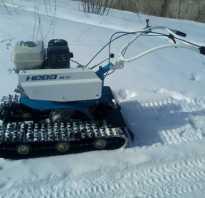 Навесное оборудование для мотоблока гусеницы