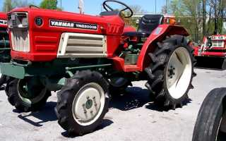 Трактор янмар 2610д л с технические характеристики