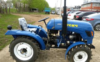 Технические характеристики трактор т 224 русич
