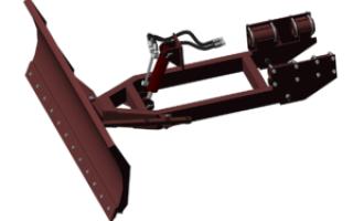 Снегоротор для трактора т-25