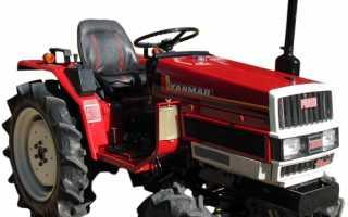 Японский трактор yanmar
