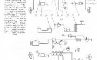 Схема трактора тт-4