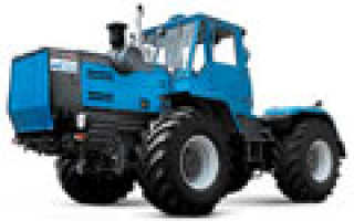 Все модели тракторов хтз