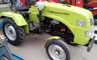 Мини трактор ставрополец