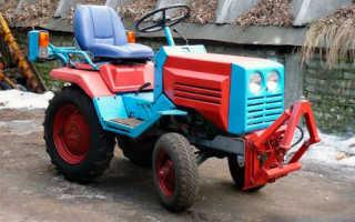 Мини трактор кмз 012 характеристики