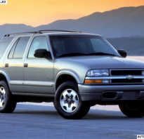 Chevrolet blazer 1999 4 3 отзывы