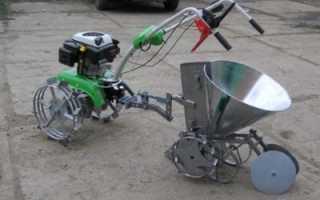 Самодельный толкатель для сена для мотоблока