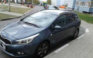Kia ceed 2013 универсал отзывы