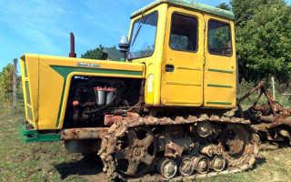 Трактор в 54 болгар
